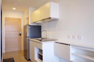 For RentCondoBangna, Lasalle, Bearing : 🔥🔥Hot Deal!🔥🔥 For rent, Pause Sukhumvit 103, size 21 sqm., 6th floor, 1 bedroom, 1 bathroom, BTS Udom Suk [Code:A246]