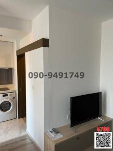 For RentCondoRama9, RCA, Petchaburi : Condo for rent, Ideo Mobi Asoke, beautiful room, fully furnished, near MRT Phetchaburi