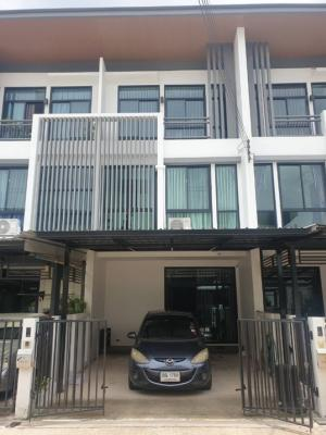 For RentTownhouseLadprao, Central Ladprao : 3-storey townhome for rent, Cozy Ladprao 41 project (Separate 6-7), with 3 bedrooms, 3 bathrooms, near MRT Lat Phrao
