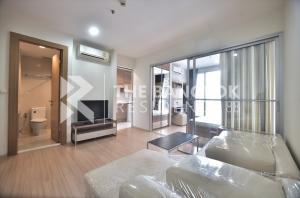 For SaleCondoRatchadapisek, Huaikwang, Suttisan : Selling super cheap, very good price, Rhythm Ratchada-Huay Kwang 4,100,000 baht, 36 sq.m., high floor, good view, 1 bedroom, 1 bathroom.