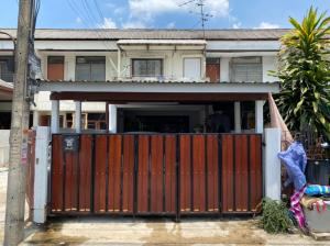 For SaleTownhouseNawamin, Ramindra : 2 storey townhouse for sale, Ramintra 42/1, ready to move in, next to Ramintra Road, only 200 meters from the BTS station