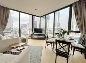 For RentCondoRama9, RCA, Petchaburi : 3500-A😊 For RENT 2 bedrooms for rent🚄 near MRT Rama 9🏢Ashton Asoke - Rama 9 Ashton Asoke –Rama 9 🔔 Area: 68.50 sq m. Rent: 55,000฿📞O88-7984117,O65- 9423251✅LineID:@sureresidence