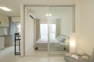 For RentCondoRattanathibet, Sanambinna : Condo for rent, Aspire Rattanathibase 2, size 1 bedroom 26 sqm, 22nd floor, Building B /7,500B.