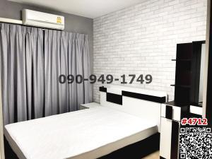 For RentCondoRatchadapisek, Huaikwang, Suttisan : For rent 624 Condolette Ratchada 36 near MRT Lat Phrao.