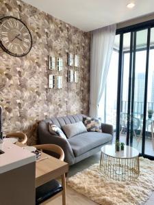 For RentCondoOnnut, Udomsuk : New condo, Quinn Sukumvit101, big room, high floor, beautiful view