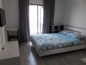 For RentCondoOnnut, Udomsuk : [ Condo for rent ] Ideo Mobi Sukhumvit, BTS Onnut, Studio room 22 sq.m.