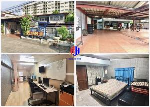 For SaleHouseNawamin, Ramindra : House for sale, Soi Ramintra 4, into Soi 100 meters, near 2 lines of train, 4 cars can be parked