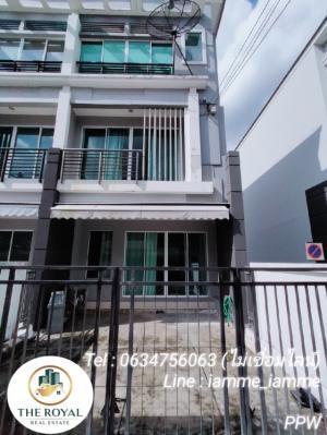 For RentTownhouseRamkhamhaeng, Hua Mak : Agent post 🌺 3-storey townhome for rent @ Rama 9 - Ramkhamhaeng (Ramkhamhaeng 39)
