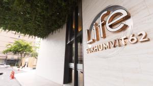 For RentCondoOnnut, Udomsuk : 🌈Life Sukhumvit 62 Floor 21. Skyline View 1~Bed Biggest 🌈🔥🔥 Hot promotion, stay free for 1 month***🔥🔥