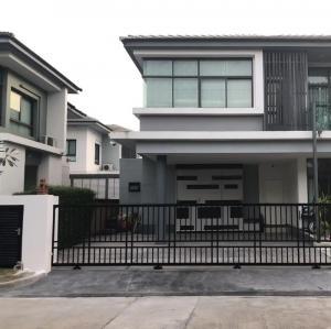 ขายบ้านพัฒนาการ ศรีนครินทร์ : บ้านเดี่ยวเศรษฐสิริ ศรีนครินทร์ – พระราม9 หน้าบ้านทิศเหนือ หลังมุมติดสวน รามคำแหง60 กรุงเทพกรีฑา 7