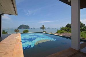 ขายบ้านกระบี่ : ขายวิลล่าวิวทะเลแบบพาโนรามิกโดยสิ้นเชิง - อ่าวท่าเลน , กระบี่