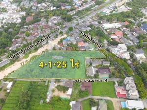 For SaleLandPinklao, Charansanitwong : Land for sale 4-1-25 rai, Chimplee Road, Taling Chan.