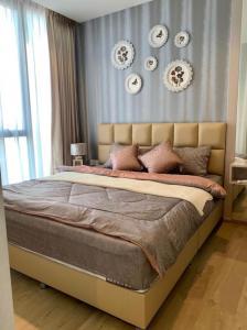 For RentCondoOnnut, Udomsuk : 3512-A😊 For RENT 1 bedroom for rent🚄Close to BTS PunnawithiQuinn Sukhumvit 101 QUINN Sukhumvit 101 area:34.50 Sq.m. Rent:22,000฿📞O88-7984117,O65-9423251 ✅LineID:@sureresidence