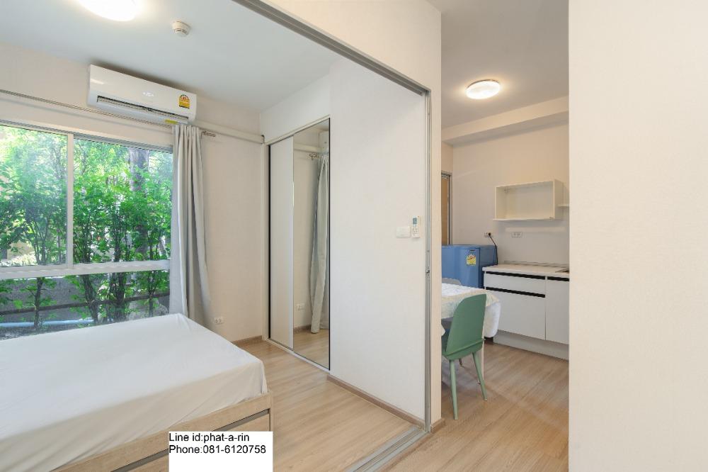 For SaleCondoBangbuathong, Sainoi : Urgent sale, Plum Condo Bangyai, size 23 sq. m., 1st floor, Building C 980,000.