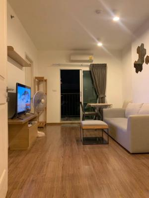 For RentCondoBang Sue, Wong Sawang : Condo for rent, U Delight, Bang Son (U Delight @ Bangso 💕*** rental price 11,000 baht, wide room, large area, 42 sq.m., beautiful view**n) large room, beautiful view, with 2 balconies, very wide* Detail * - Corner room, 6th floor, pool view - next to MRT