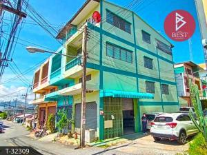 For SaleShophousePattaya, Bangsaen, Chonburi : Commercial building for sale, area 16.0 square meters, Baan Suan, Chonburi.