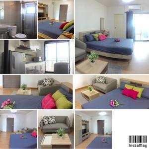 For RentCondoChengwatana, Muangthong : For rent Supalai Loft Chaengwattana with washing machine price 7,500 baht/month