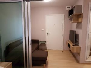 For RentCondoChengwatana, Muangthong : Quick! Hurry up to reserve. Beautiful room for rent at Plum Condo Chaengwattana, Phase 3, free parking for 1 car, only 7000.-/month.