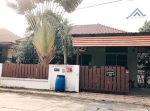 For SaleHouseRamkhamhaeng,Min Buri, Romklao : Ready to move in single house for sale. Kruewan Village 3 Suwinthawong 64