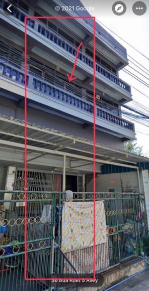 For SaleShophouseBangna, Bearing, Lasalle : Sell / rent a 3-storey commercial building, Bangna Soi 11