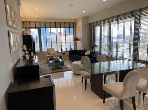 For RentCondoWitthayu,Ploenchit  ,Langsuan : Condo Amanta Lumpini for rent fully furished 2 bedroom 117 sq.m display room Floor 12A price 43,000 Bath/month