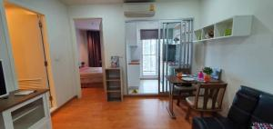 For RentCondoThaphra, Wutthakat : LC-R291 **Condo for rent, The president Sathorn-Ratchapruek, Phase 2, beautiful decoration, near BTS Bang Wa, only 150 m. / Area 35 sq.m. / relax with pool view / 10th floor / separate kitchen for cooking I'm fine /with washing machine