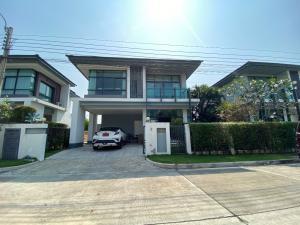 For SaleHouseRama9, Petchburi, RCA : House for sale, Setthasiri Village. Srinakarin-Rama 9 - Area 54 square meters Tel : 094-3546541 Line : @luckhome Code : LH00445
