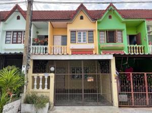 For SaleTownhouseBang kae, Phetkasem : Townhouse for sale, 2 floors, Petchkasem University, Petchkasem Rd. 55/2, Lak Song Subdistrict, Phasi Charoen District, Bangkok 10160