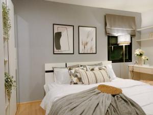 For RentCondoBangna, Lasalle, Bearing : NAI463 Condo for rent: B Loft Sukhumvit 115, 4th floor, near BTS Pu Chao