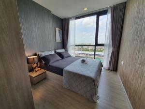 For RentCondoBang Sue, Wong Sawang : 📌[Condo for rent] The Line Wongsawang Wong Sawang, beautiful room, complete electrical appliances, next to Wong Sawang MRT, very convenient to travel