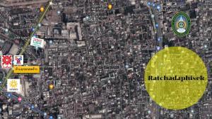 For SaleLandRatchadapisek, Huaikwang, Suttisan : Land for sale, beautiful plot, next to Ratchadaphisek Road, Soi 32