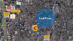 For SaleLandLadprao, Central Ladprao : Beautiful plot of land for sale in Lat Phrao area, cheap price !!