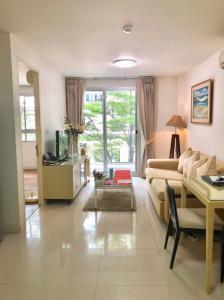 For RentCondoSukhumvit, Asoke, Thonglor : Condo for rent The Clover Thonglor Type 1 bedroom 1 bathroom Size 46 sq.m. Garden view Floor 3
