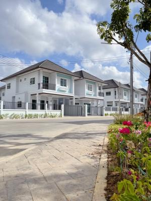 For SaleHouseHatyai Songkhla : Twin house, detached house style Location on the main road Airport Line - Tha Thon Hat Yai