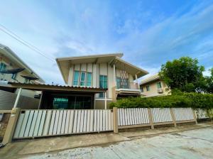 For RentHouseBangna, Lasalle, Bearing : ให้เช่า บ้านเดี่ยว พฤกษาปูริ ชานบัว(Pruksapuri Chanbua) บางนา-ตราด กม.5 ( AS-02)