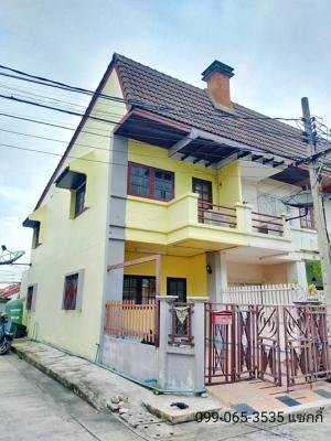 For SaleTownhouseLadprao 48, Chokchai 4, Ladprao 71 : ✅ 2 storey townhome for sale, Ketnuti Garden Village, Nak Niwat 38, size 17 sq.m. ✅