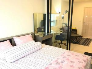 For RentCondoRama9, RCA, Petchaburi : Condo for rent Life Asoke 35 sq.m. 1bed plus