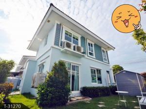เช่าบ้านสำโรง สมุทรปราการ : ให้เช่าบ้านเดี่ยว 2ชั้น วิลาจิโอบางนา AOL-F81-2106004043