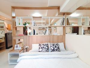 For SaleCondoOnnut, Udomsuk : Beautiful room for sale, The log 3, Sukhumvit 101/1, high floor, beautiful view.