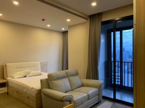 For RentCondoSukhumvit, Asoke, Thonglor : Condo for rent Ashton Asoke Type 1 bedroom 1 bathroom Size 34 sq.m. Floor 29 City View