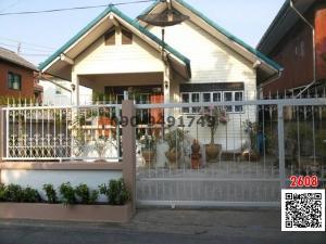 For RentHouseOnnut, Udomsuk : Single house for rent, one floor, Soi Wachiratham Sathit 53, Sukhumvit 101/1, quiet atmosphere.