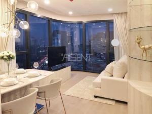 ขายคอนโดสยาม จุฬา สามย่าน : ขายด่วน 2 ห้องนอน แต่งสวยมาก แอชตัน จุฬาสีลม Ashton Chula-Silom โทร.062-339-3663