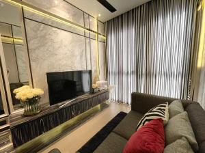 For RentCondoSukhumvit, Asoke, Thonglor : Condo for rent Ashton Asoke Type 1 bedroom 1 bathroom Size 30 sq.m. Floor 17