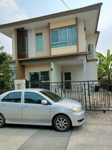 เช่าบ้านสำโรง สมุทรปราการ : หมู่บ้านพฤกษาปูริ ถนนกิ่งแก้ว ซอย 37 หมู่บ้านอยู่ห่างจากถนนกิ่งแก้วแก้ว 1.5 โล