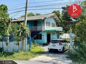 ขายบ้านสิงห์บุรี : ขายบ้านเดี่ยว 2 ชั้น พร้อมที่ดินติดถนน บางระจัน สิงห์บุรี
