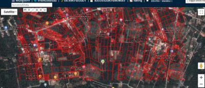 For SaleLandSamut Songkhram : Land for sale in Mae Klong, Amphawa