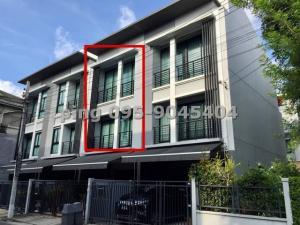 For SaleTownhouseChengwatana, Muangthong : Townhome for sale, Baan Klang Muang, Ngam Wong Wan, 3 floors, 18 sq.wa.
