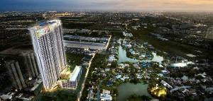 Sale DownCondoBangna, Lasalle, Bearing : Sale down payment, Condo Niche Mono Mega Space, Bangna, 30 sq m. 1 bedroom, 10th floor, beautiful view, near Mega Bangna.