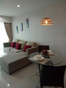 For SaleCondoPattaya, Bangsaen, Chonburi : Sriracha CondoView 1 bed FL.5 Seaview NEW decor in-town 0821693629