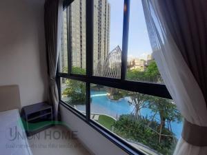 For RentCondoOnnut, Udomsuk : Condo for rent in luxury resort style Elio Del Nest, 3rd floor (BTS Udom Suk)